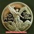 メキシカン 50ペソ 金貨(レプリカコイン)1921年 Mexican 50 Pesosの画像1