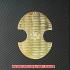 レプリカ小判:太閤分銅金判(プラスチック製)の画像1